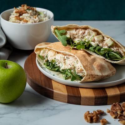 Chicken and Apple Walnut Salad-400x400